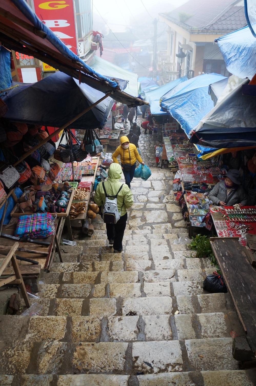 El mercado de Sapa.