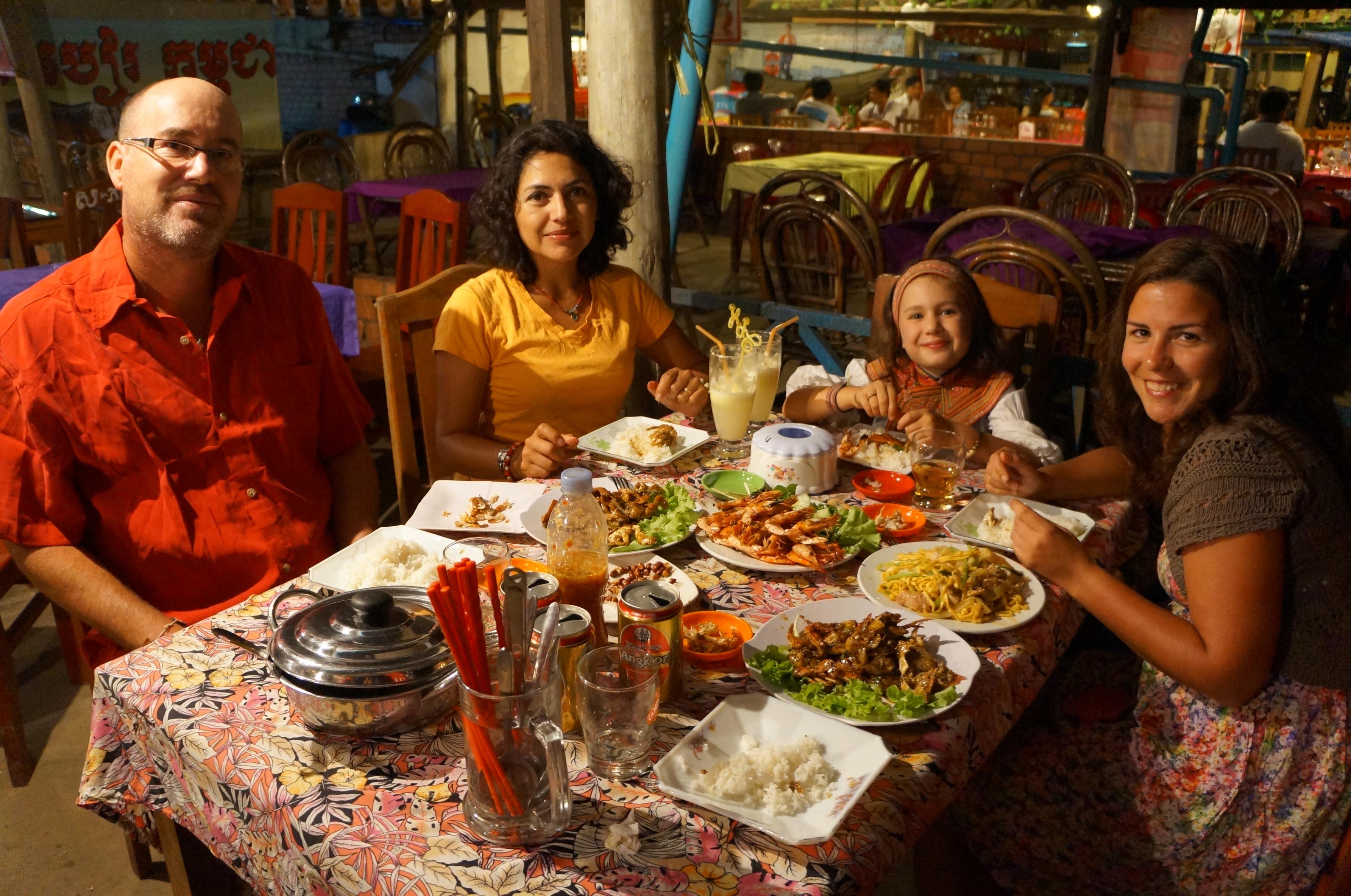 Fin de a o en kep un mundo por recorrer for Cenas para fin de ano