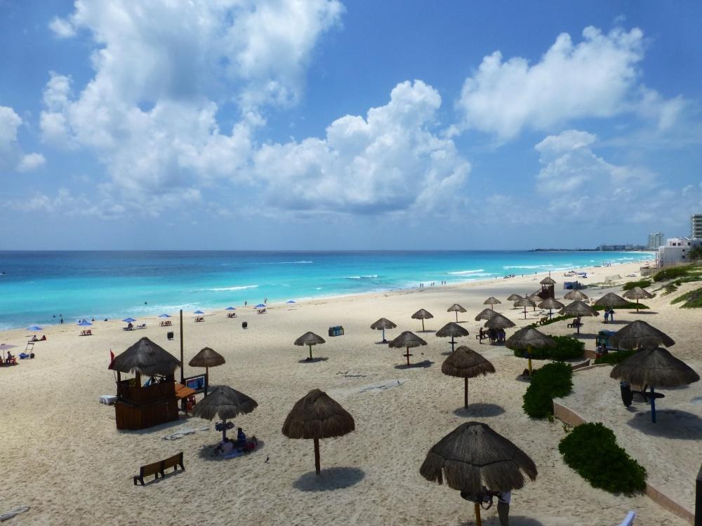 Vista de Playa Mirador desde su mirador.