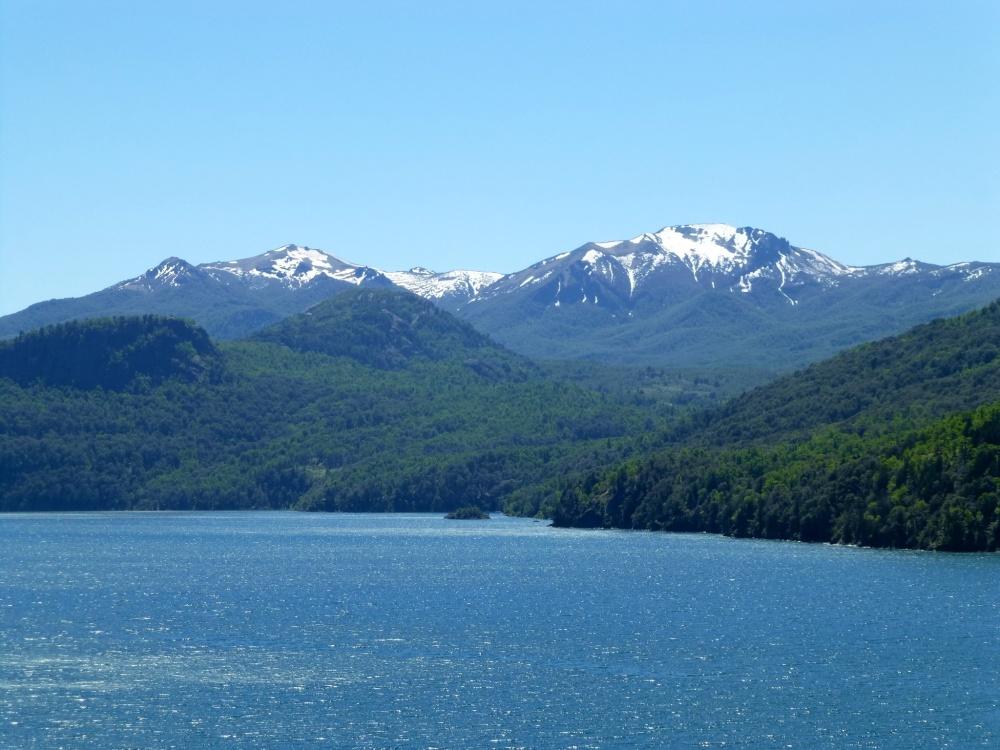 Detalle de las montañas del fondo.