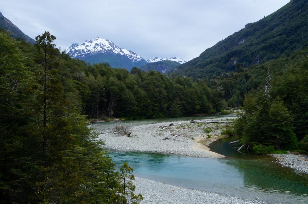 Parte baja del Río Azul.