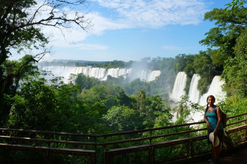Las impresionantes cataratas de Iguazú!