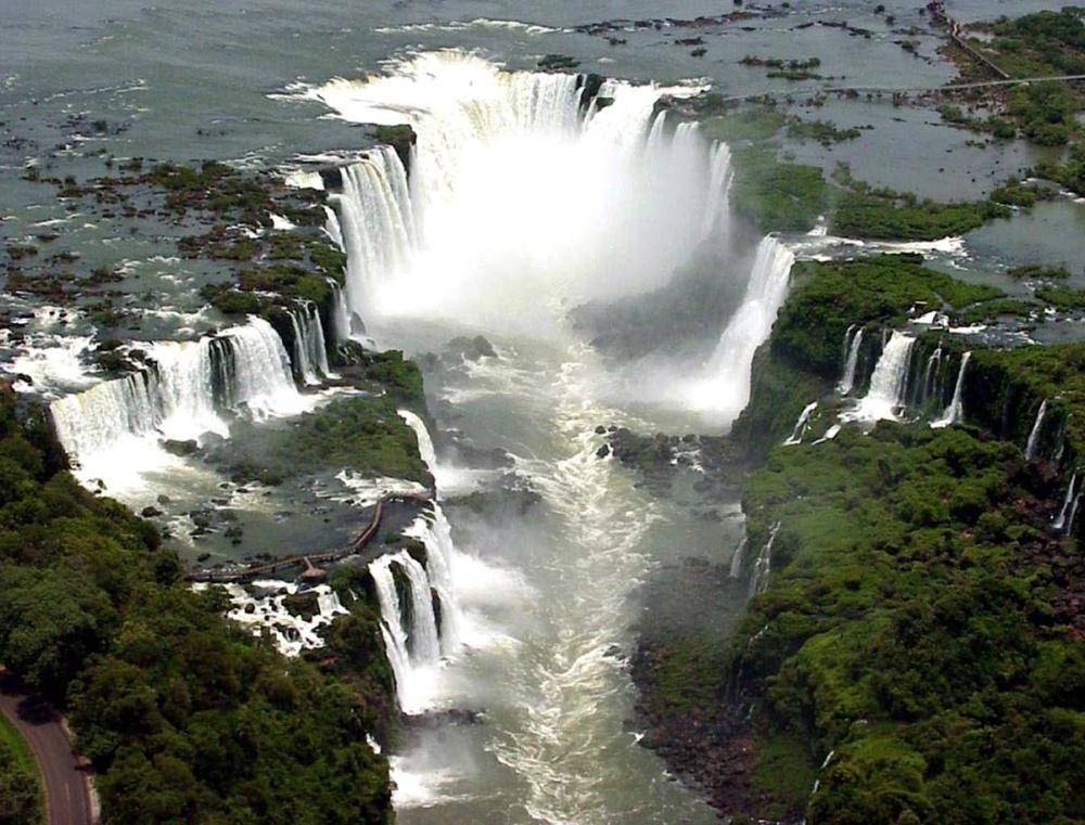 Vista general cataratas de Iguaizú (imagen internet).