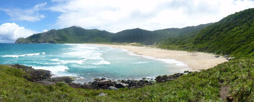 Playa de Lagoinha do Leste.