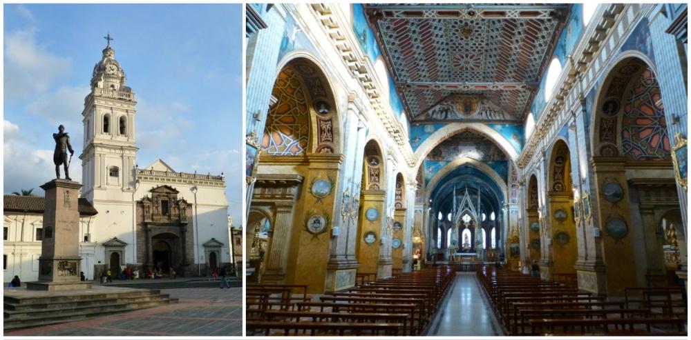Iglesia de Santo Domingo. Exterior e interior.