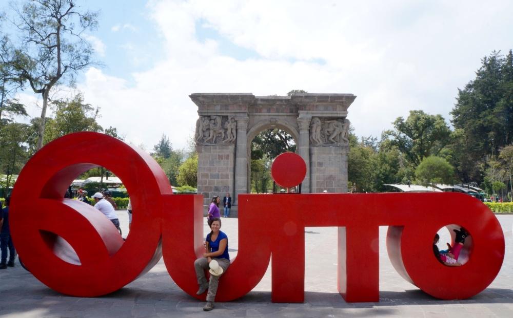 Arco de triunfo del Parque La Alameda.